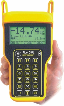 Fiber OWL 4 optical power meter
