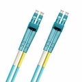 LC-LC Fiber Patch Cable, Multimode 50/125 10 Gig OM3, Duplex