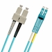 SC-LC Fiber Patch Cable, Multimode 50/125 10 Gig OM3, Duplex