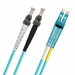 ST-LC Fiber Patch Cable, Multimode 50/125 10 Gig OM3, Duplex