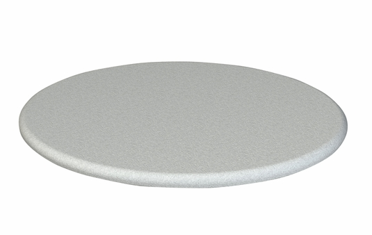 Silver Flat Panel Turntable