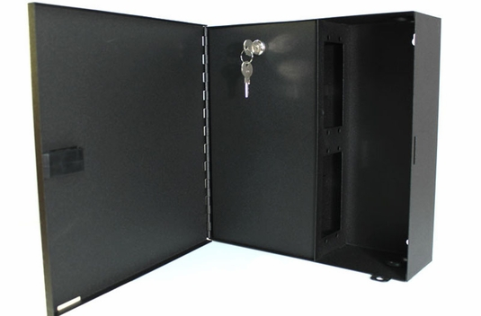 FWM-4X-LC - 4 Panel Wall Mount Fiber Distribution Unit