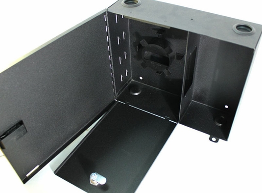 FWM012XLC - 2 Panel Wall Mount Fiber Distribution Unit