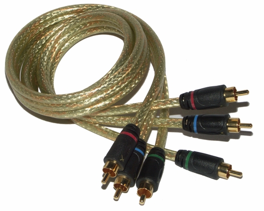 GoldX Hi-Def Component Video Cable