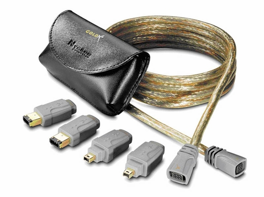 GoldX QuickConnect FireWire Cable Kit