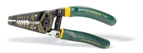 Greenlee 1955 Pro Plus Wire Stripper Cushion Grip 10-18 Awg