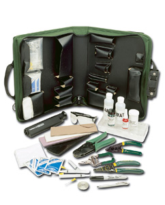 Greenlee Fiber Optic Termination Kit