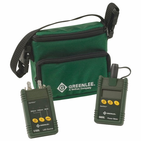 Greenlee 5670-FC Multimode Test Set for FC Connectors