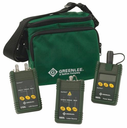 Greenlee 5890-ST Singlemode/Multimode Test Set for ST Connectors