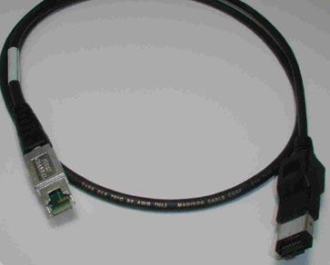 HSSDC2-HSSDC, 10 Meter, 2GB Cable