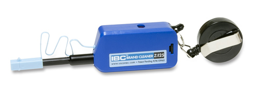 IBC Brand Cleaner Zi25 w/ Keychain for LC &MU PC/APC Connectors