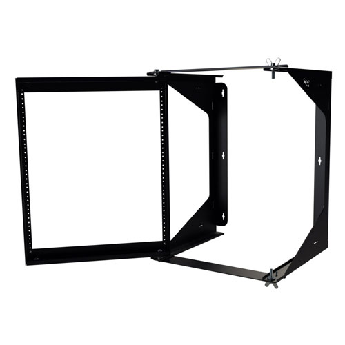 ICC Wall Mount Swing Frame Rack in 12 RMS