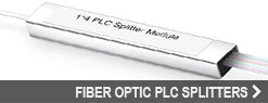 Fiber Optic PLC Splitters