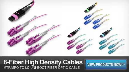 QSFP MTP/MPO Fiber Optic Cables