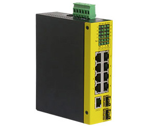 Industrial 8-Port L2 Gigabit Ethernet Switch
