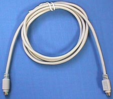 Keyboard Cable, MDIN6 Male - MDIN6 Male, 6 Foot