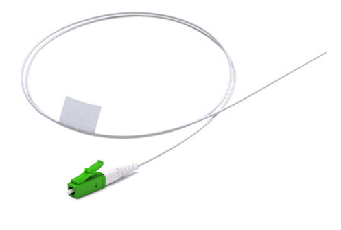 LC/APC Fiber Optic Pigtail, Singlemode OS1, Tight Buffer 900um