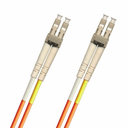 LC-LC Fiber Patch Cable, Multimode 50/125 OM2, Duplex