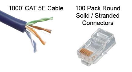 Make Your Own Cat5e Cable Kit - Basic