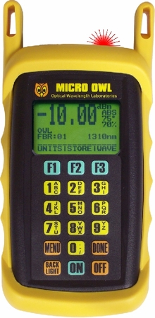 Micro OWL 2 Power Meter w/Integrated VFL