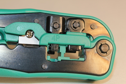 Modular Plug Crimper - with Stripper
