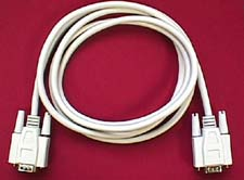 Monitor Cable, HD15 Male - HD15 Female, 06'
