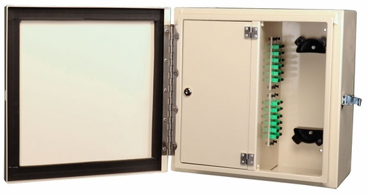 NEMA 4 Rated, 4 Panel Fiber Distribution Unit