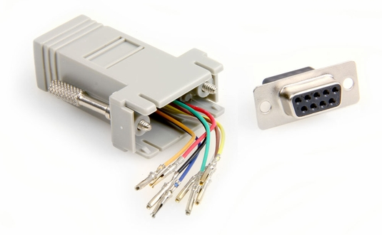 NMA-8209 Modular Adapter, RJ45-DB9 Female