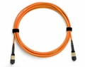 OM1 Cassette-to-Cassette MTP/MPO Fiber Optic Cables