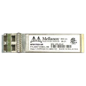 Mellanox® Optical Module, ETH 10GBE, 10GB/s, SFP+, LC-LC, 850nm, SR Up To 300m