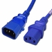 P-Lock 10Amp C14 to C13 4FT - Blue Secure Locking Power Cord