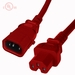 P-Lock C14 to C15 Locking Power Cables - Red