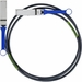 Mellanox® Passive Copper Cable, IB QDR/FDR10, 40GB/s, QSFP, 1m