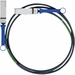 Mellanox® Passive Copper Cable, VPI, Up To 56GB/s, QSFP, 0.5m