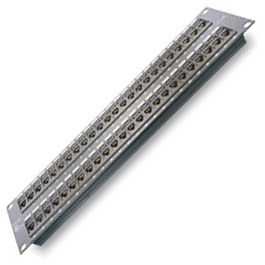 Patch Panel, 48 Port, CAT5E, Rack Mount, A&B, 110