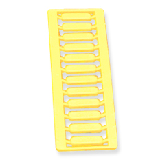 Patch Panel Icon, Voice, Yellow, 12PK