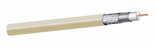 25841IV1000 - Plenecon® RG-6/U Type CATV Plenum Coaxial Cable, 1,000'