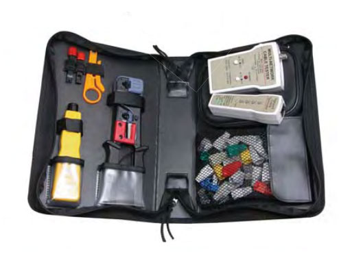 Quest Network Installer Kit with Tester & Case