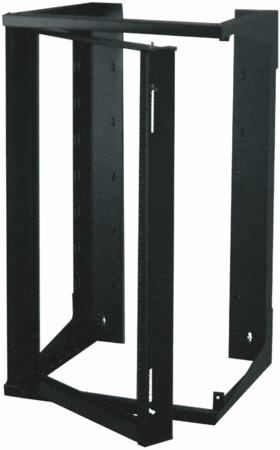 Quest Mfg. Swing-out Wall Mount Rack - SR1943-25-02 - 43H X 19W X 25 Rack Mount Space