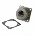 R-Jack™ RJ-45 Flange Mount, Non-Shielded, Non-Sealed, Zinc Nickel, MIL-DTL-38999