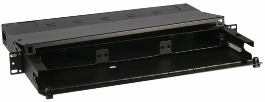 RAC-1X - Fiber Enclosure, Rack Mount, 3 Panel, 1U
