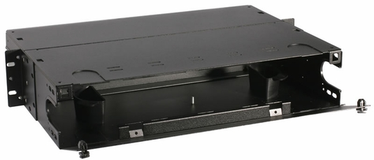 RAC-2X - Fiber Enclosure, Rack Mount, 6 Panel, 2U