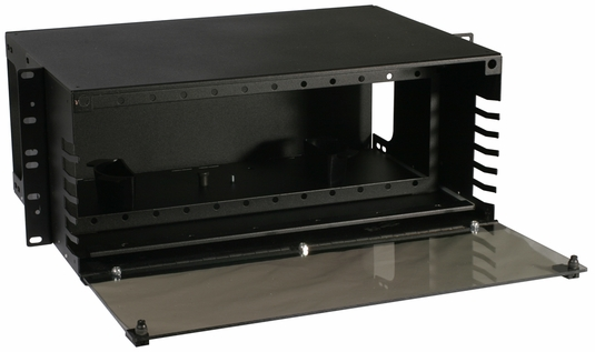 RAC-4X - Fiber Enclosure, Rack Mount, 12 Panel, 4U