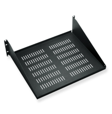 Rack Shelf, 15 Deep, Single, Vented, 3RMS