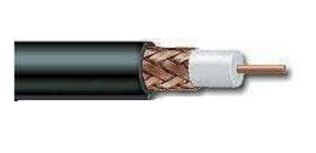 RG 59/U, 20awg., Solid Copper, 95% Copper Braid, CCTV, 1000'
