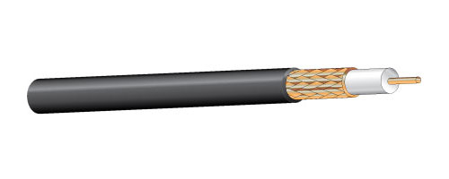 815BK1000 - RG-59/U Type CCTV Coaxial Cable, 1,000'
