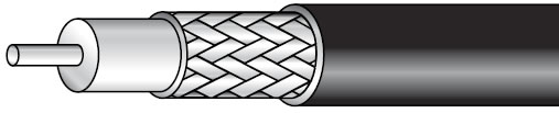 RG-6 Type CCTV Coaxial Cable, 1,000'