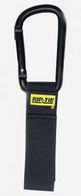 Rip-Tie CableCarrier with Silver Carabiner