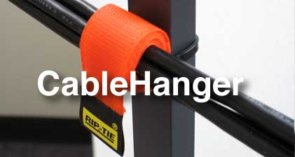 Rip-Tie Pivoting CableHanger 10 Pack