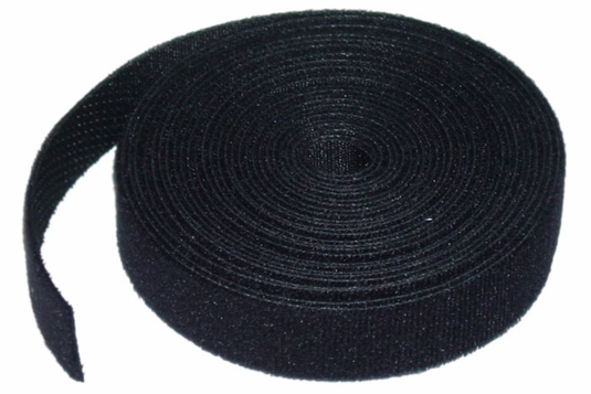 Rip-Tie WrapStrap, 75 Feet, 1.5 to 4 Widths, Black